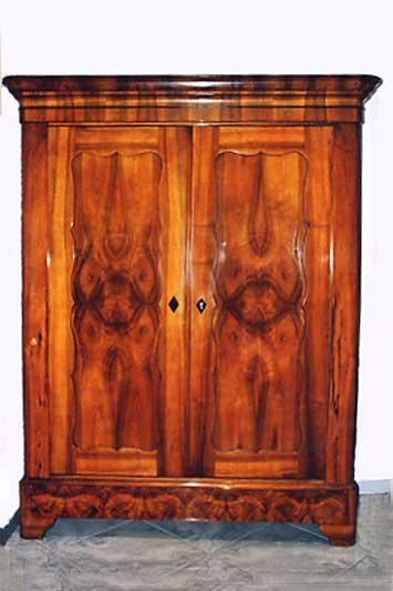 antikm bel biedermeier schrank. Black Bedroom Furniture Sets. Home Design Ideas