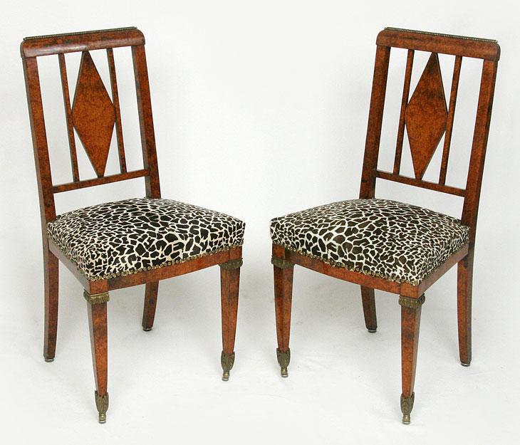 polsterei antikm bel herodek art d co stuhl. Black Bedroom Furniture Sets. Home Design Ideas