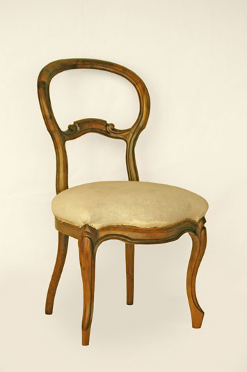polsterei antikm bel herodek louis philippe stuhl. Black Bedroom Furniture Sets. Home Design Ideas